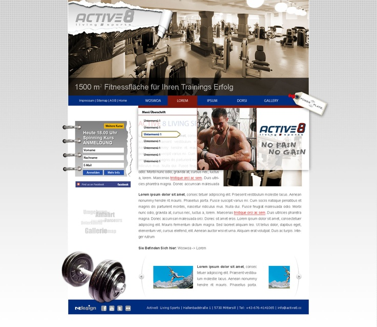 active8 fitness mittersill