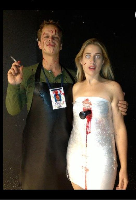 Dexter Halloween costume-- So morbid, but I still love it