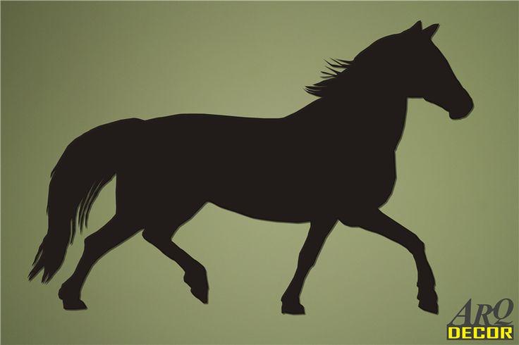 Pracownia Dekoracji ARQ - DECOR - Koń w galopie Nr 09 (NA ZAMÓWIENIE) dekoracje ścienne 3d