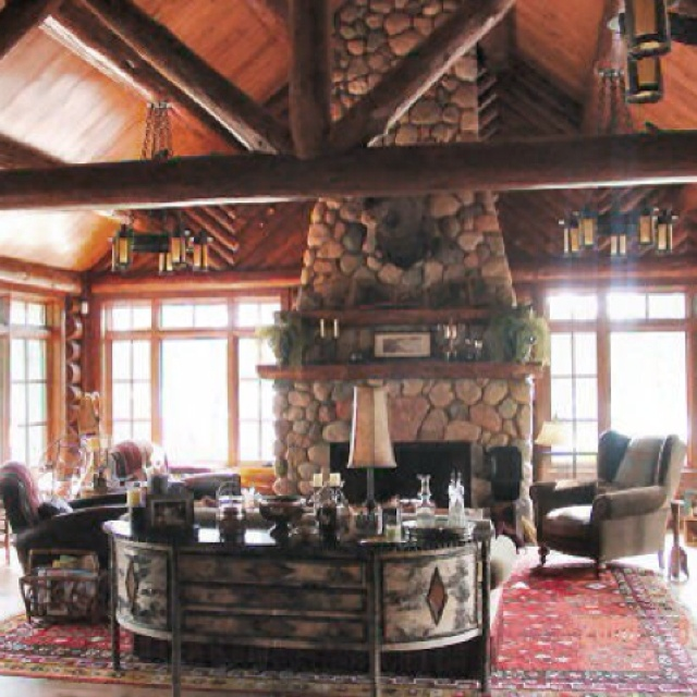 156 best Log cabin designs images on Pinterest | Home ideas, Kitchen Log Home Designs Open Kitchen Living Area on open living dining space, luxurious open house designs, open space home designs, open floor plan house designs, space room designs, open kitchen living dining room designs,