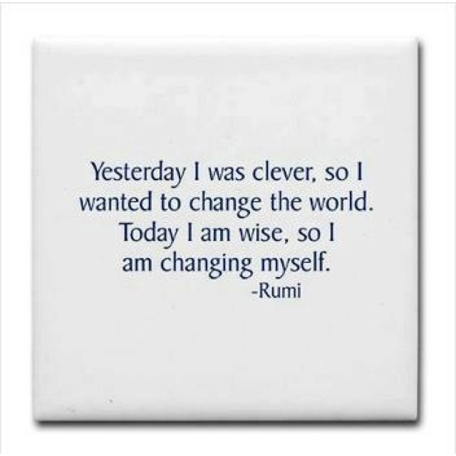 Changing the world!!!