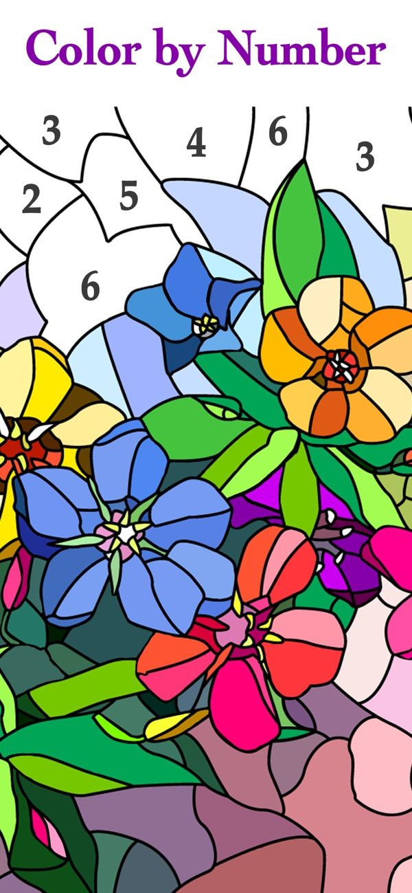 Happy Color Color By Number On The App Store Happy Colors Free Coloring Free Online Coloring