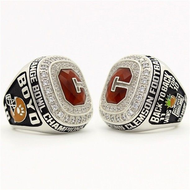 ceremony association alumni sacrifice personal clemson rings ring