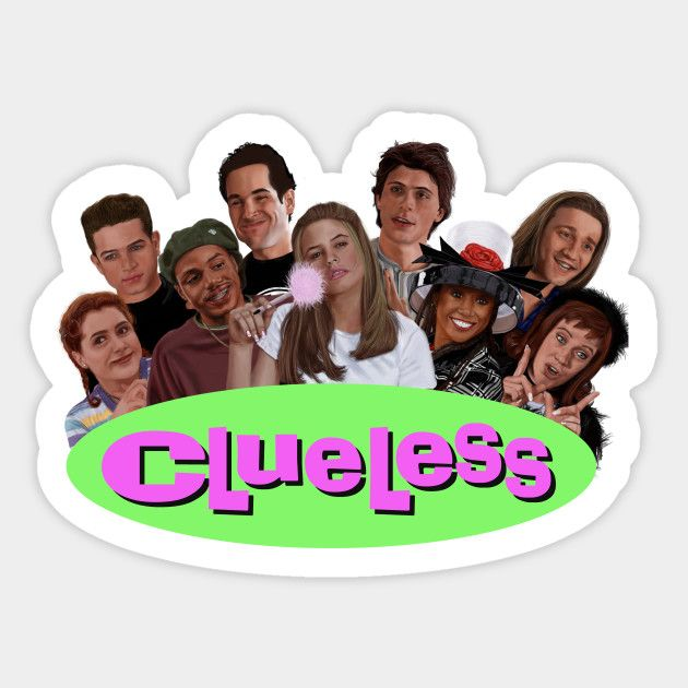 Clueless Class Of 1995 Pegatinas Bonitas Pegatinas Imprimibles Pegatinas