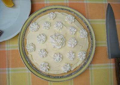 No Bake Orange Curd Creme Pie | Recipe