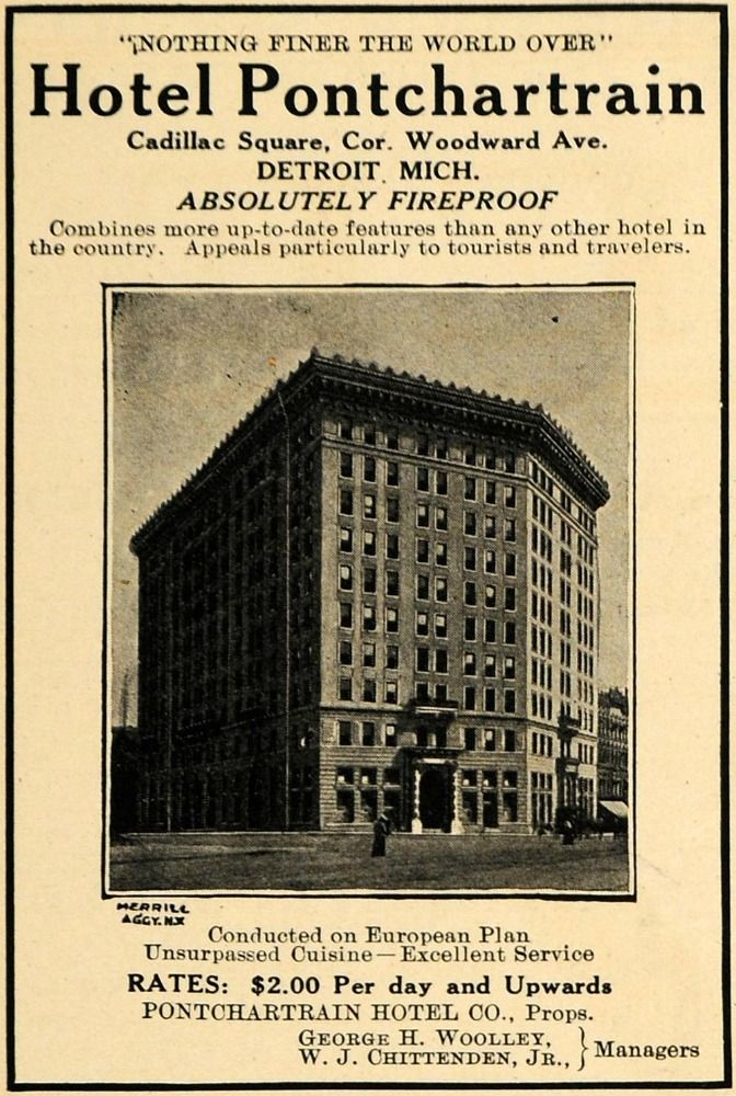 Vintage Hotel in Detroit, Michigan