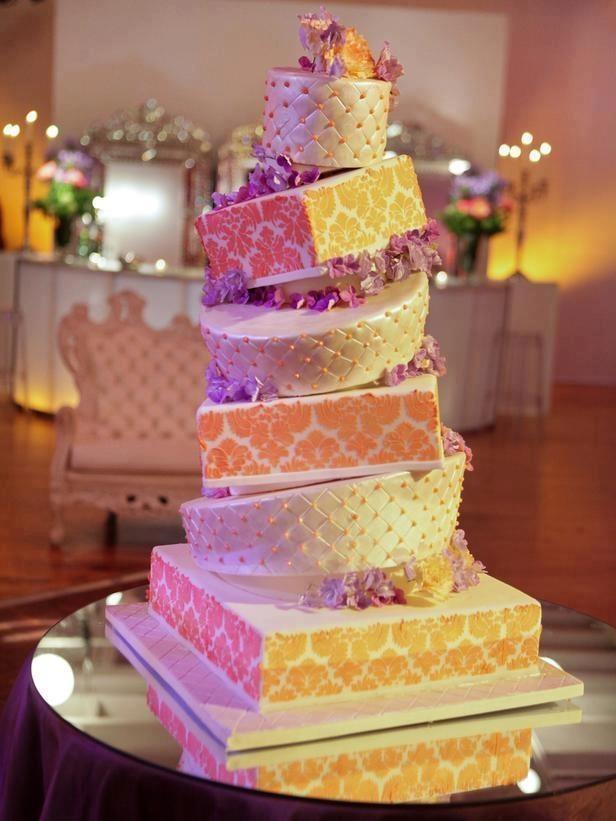 Topsy Turvy Wedding Cakes Pinterest