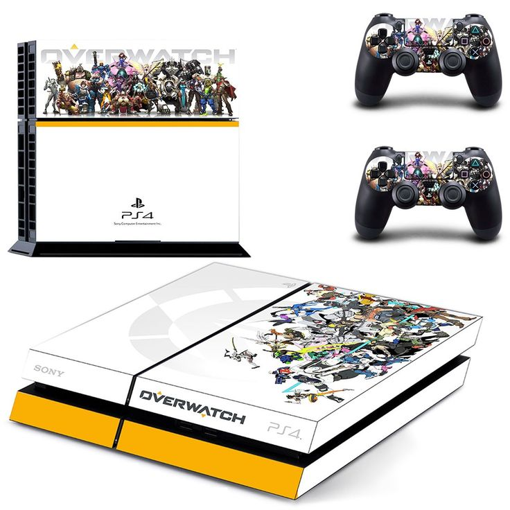 overwatch ps4 skin decal for console and controllers
