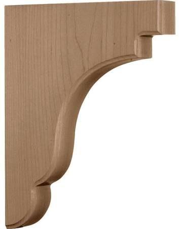 wooden shelf brackets - Google Search