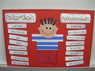 Kindergarten Rocks!  Peacemakers & Peacebreakers