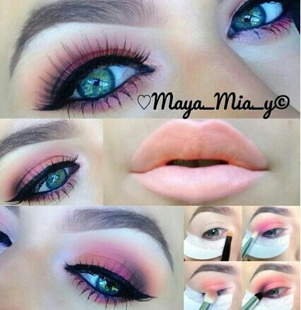 love the coral lips