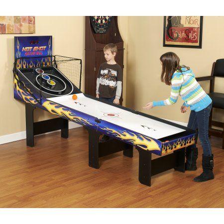 Hathaway Hot Shot 8-ft Arcade Ball Table, Blue