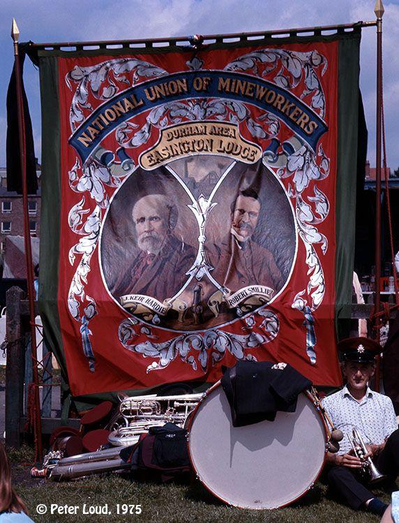 Easington Lodge Banner, Durham Miners' Gala