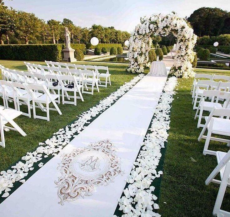 outdoor wedding ceremony sites in akron ohio%0A    Beautiful Outdoor Wedding Aisles To Celebrate Love Amidst Nature