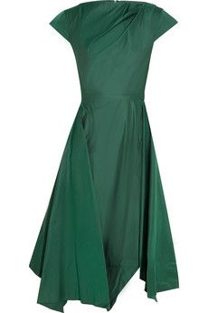 Vivienne Westwood Anglomania Sunday taffeta dress | NET-A-PORTER