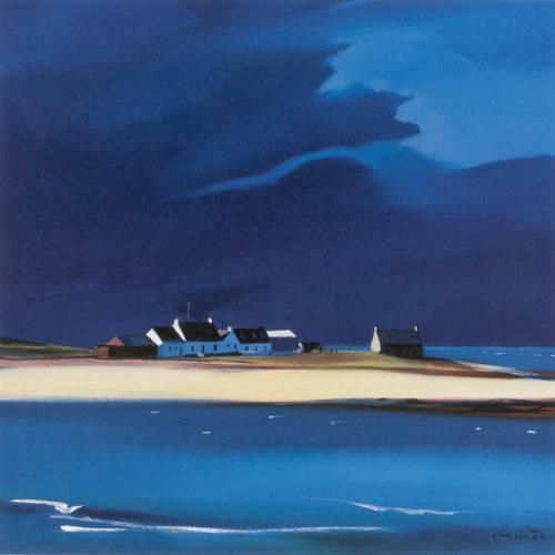 The Row, Tiree Art Print by Pam Carter - WorldGallery.co.uk