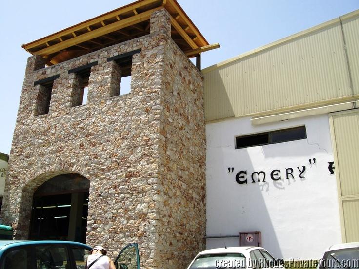 The west coast of Rhodes Island - Embona Village - Emery Winery