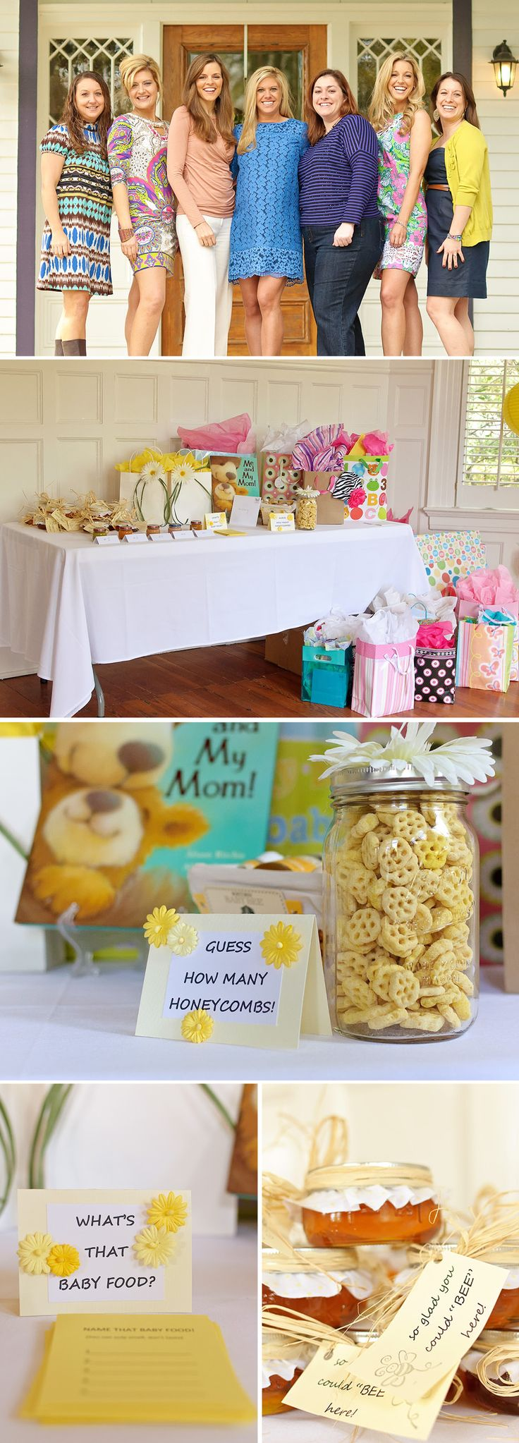 "When Kristin Klingshirn threw a baby shower for her friend Brittany Barnes, she brought together the perfect blend of sentimental and sweet. Instead of throwing a typical pink baby girl shower, Kristin used her longtime nickname for Brittany, ""Bee,"" as a source of inspiration for the yellow and ivory color palette, abundance of flowers, and …"