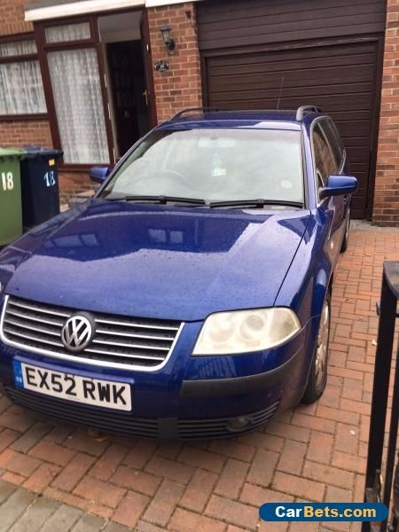 VW Passat 2002 Estate 1.9 Tdi Blue #vwvolkswagen #passat #forsale #unitedkingdom