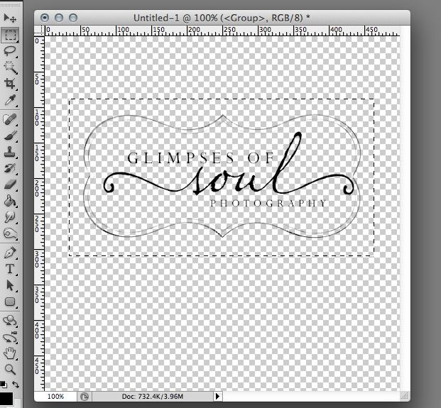 creating a watermark brush