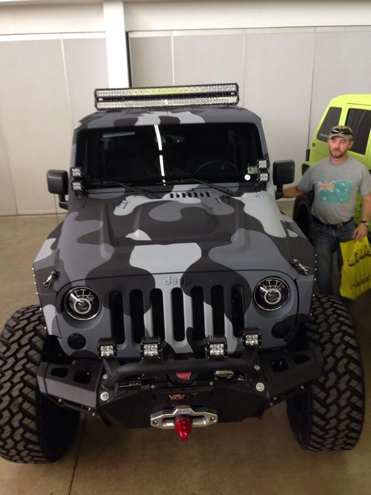 Awesome coating job. I want! pic.twitter.com/6k3c3cDYUP #jeepedin
