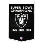 Oakland Raiders Super Bowl Banner