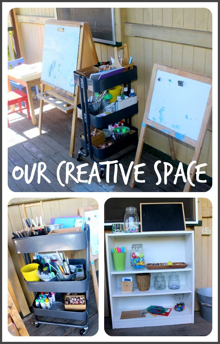 Setting Up an Inspiring Creative Space | 30 Days to Transform Your Play