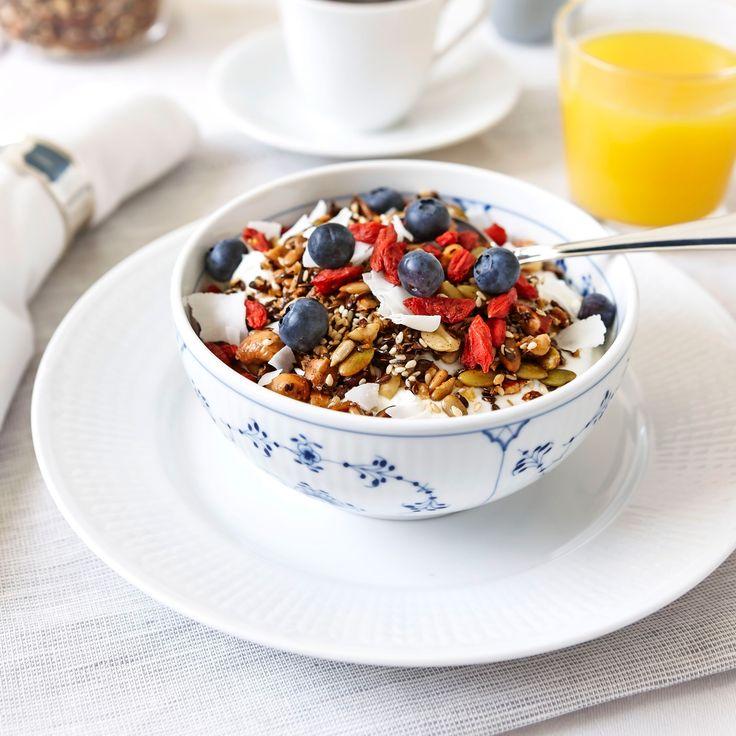 En god och nyttig granola ger dig en bra start på morgonen.