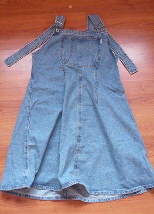 Kup mój przedmiot na #vintedpl http://www.vinted.pl/damska-odziez/krotkie-sukienki/8561183-dzinsowe-ogrodniczki-damskie