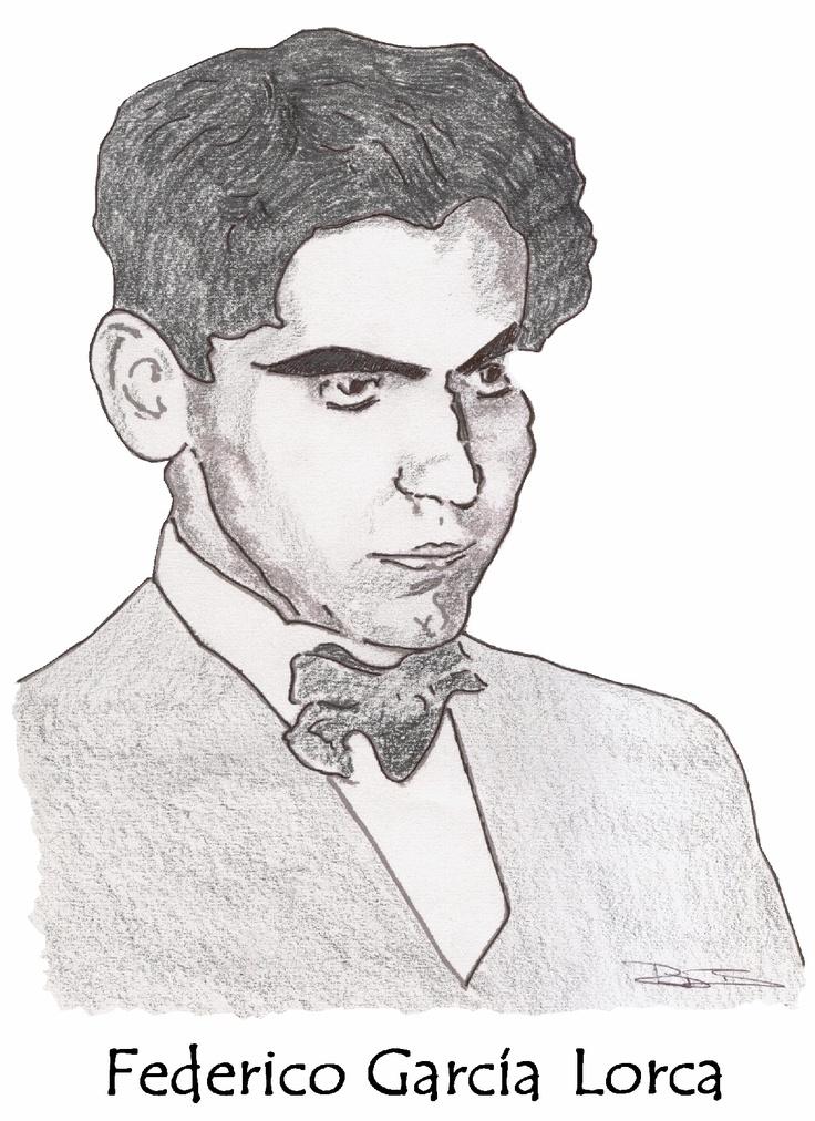 sketch of Federico García Lorca by Robert Bovington article about Lorca: http://bobbovington.blogspot.com.es/2011/05/federico-garcia-lorca.html