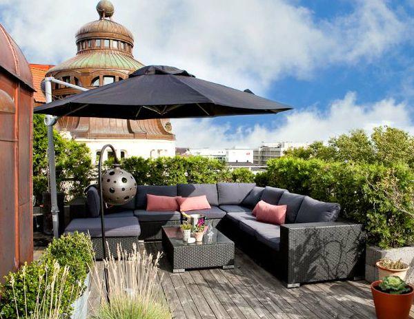Tina De Baño Japonesa:Rooftop Terrace Design