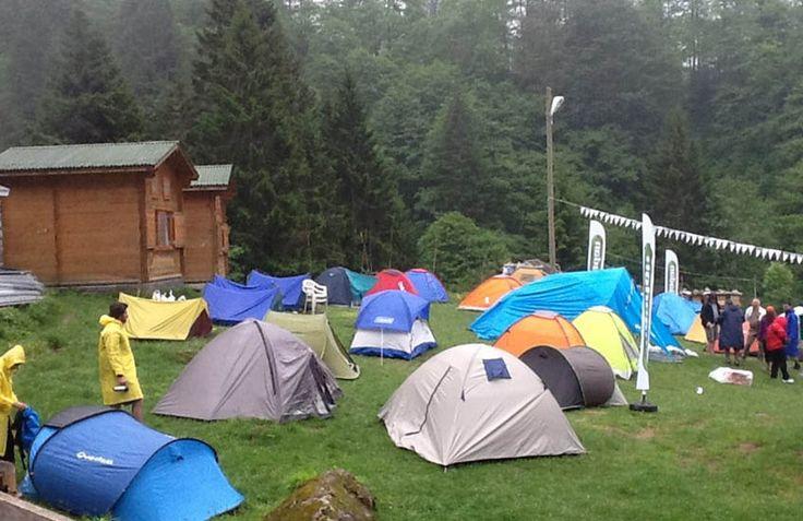 Ihlamurlar Altında Ayder Camping... Çamlıhemşin, Rize