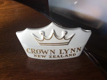 This is exactly what every Crown Lynn collector wants and needs.  Sold for $295 June 2016