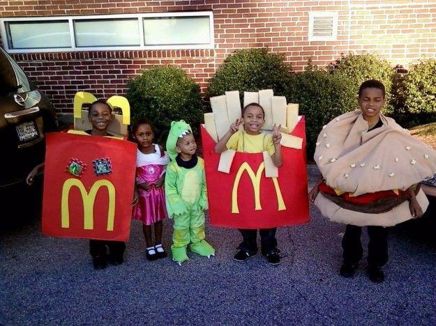 #Costume di #Carnevale fai da te #Mc Donald's