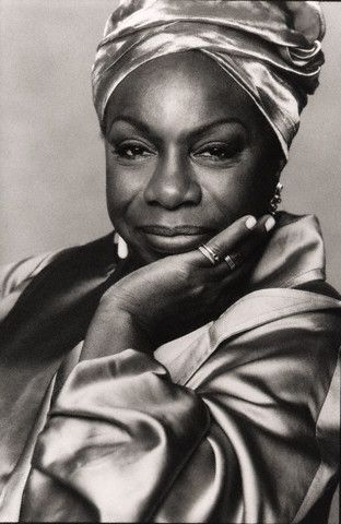 Nina Simone (1933-2003) was an American singer, songwriter, pianist, arranger, and civil rights activist and jazz musician
