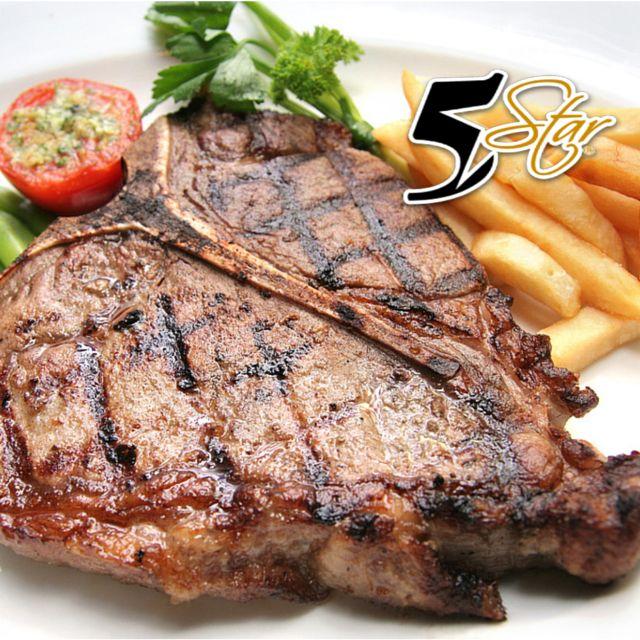Viernes - Grilled T-Bone Steak  - 7 días de Sabor con ECONO