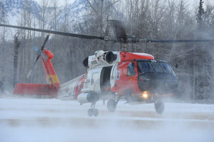 Photos: Coast Guard helicopter visits Palmer school | Alaska Dispatch News