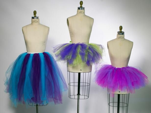 No sew tutorial to make any-sized tutu; adult, child, short, long, midi, high-low.