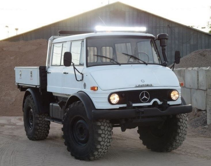 Learn more about Freeway Capable Doka: 1982 Mercedes-Benz Unimog 416 on Bring a Trailer, the home of the best vintage and classic cars online.