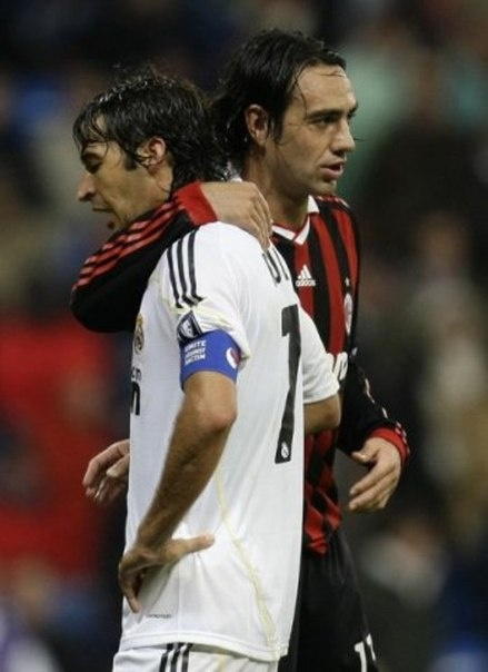 Alessandro Nesta & Raul. two legends who will never be forgotten.