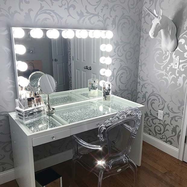 43 Must Have Makeup Vanity Ideas Stayglam Beauty Room Vanity Bedroom Vanity Beauty Room