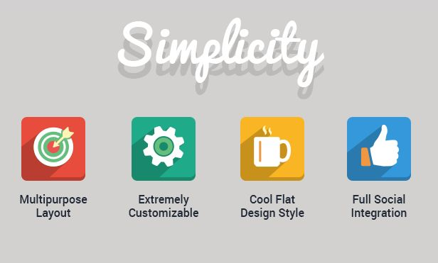 Simplicity - Creative Flat Retina Theme - WordPress | ThemeForest
