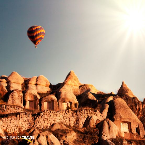 Experience Turkey's breathtaking natural beauty and historical wonders as you float over Cappadocia! For more UK & Europe travel inspiration, visit www.hot.co.nz