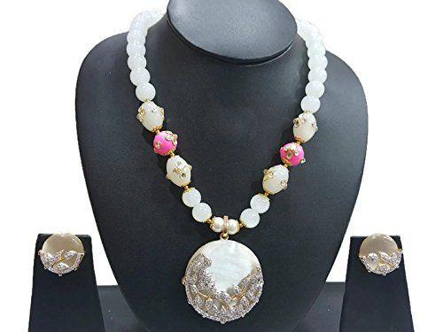 Pink & White Pearls Indian Bollywood Gold Plated Traditio... https://www.amazon.com/dp/B06VWB3C8G/ref=cm_sw_r_pi_dp_x_x8vPybBHHRH72