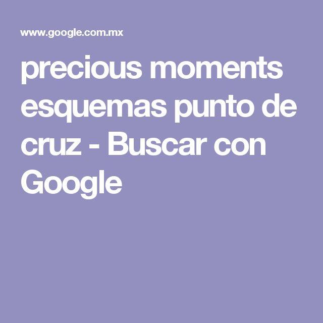 precious moments esquemas punto de cruz - Buscar con Google