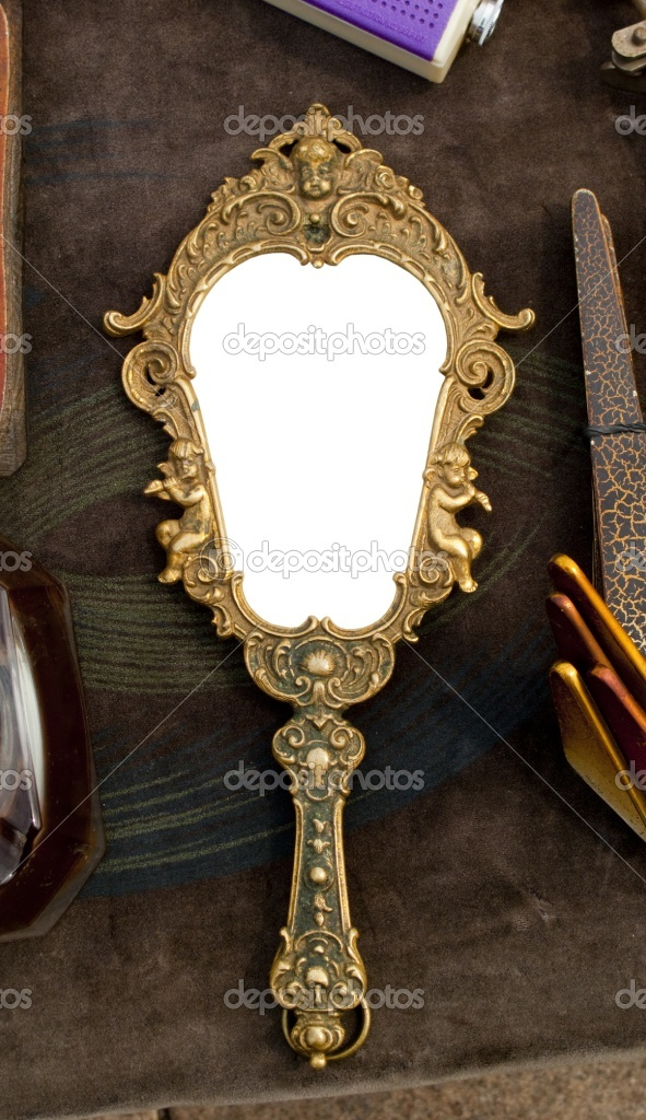 261 Best Images About Vintage Hand Held Mirrors On