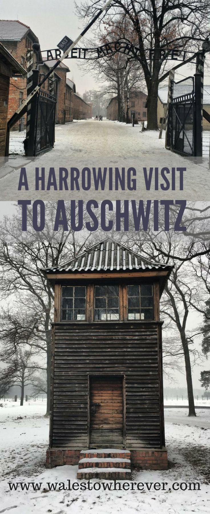 Auschwitz-Birkenau is a shock to the system. It's chilling, it's sombre but with such close proximity to Krakow, a visit is necessary in order to remember.