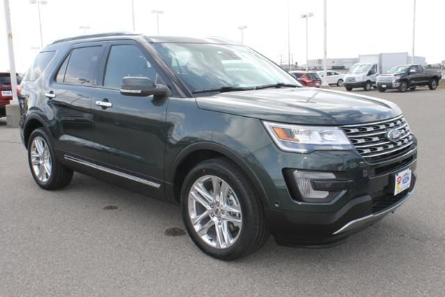 New 2016 Ford Explorer Limited SUV V6 for sale near West Fargo at Luther Family Ford in Fargo, ND. Key features include navigation, third row seating, four wheel drive | Ford Dealership Near West Fargo, Grand Forks, Dilworth & Moorhead | New Ford Explorer for sale. #Ford #carforsale #Ford
