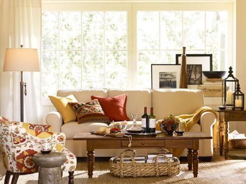97 best i love boho vintage living rooms images on pinterest for Pottery barn living room ideas pinterest