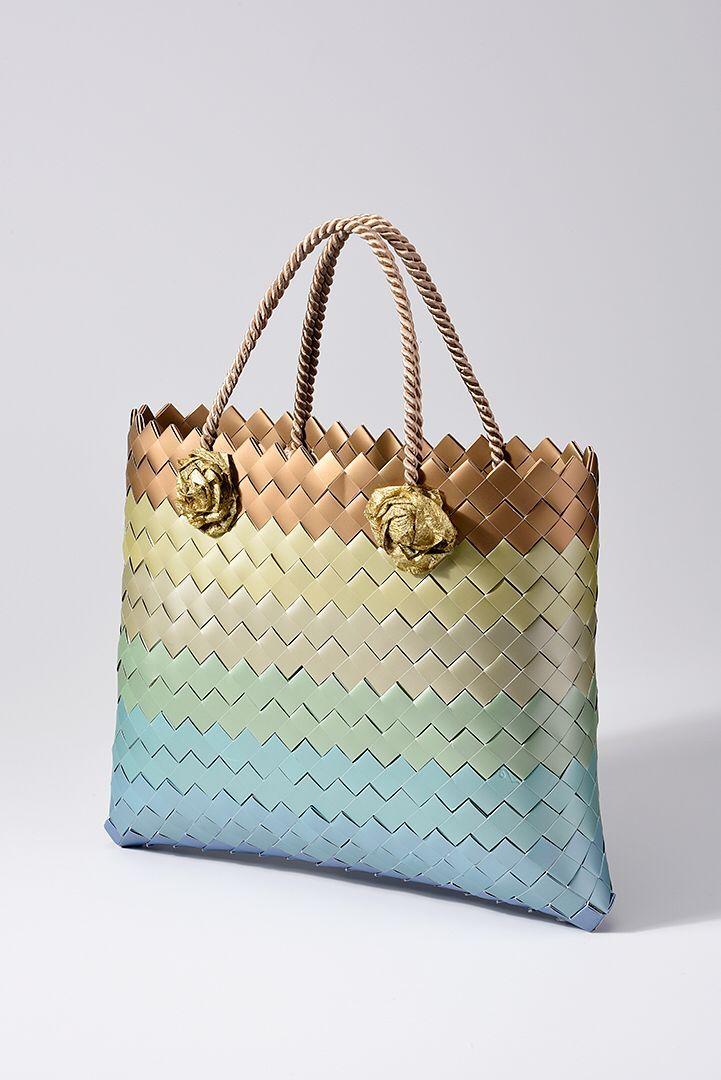 Statement Bag - Paper weave statement bag by VIDA VIDA 4rUEONm